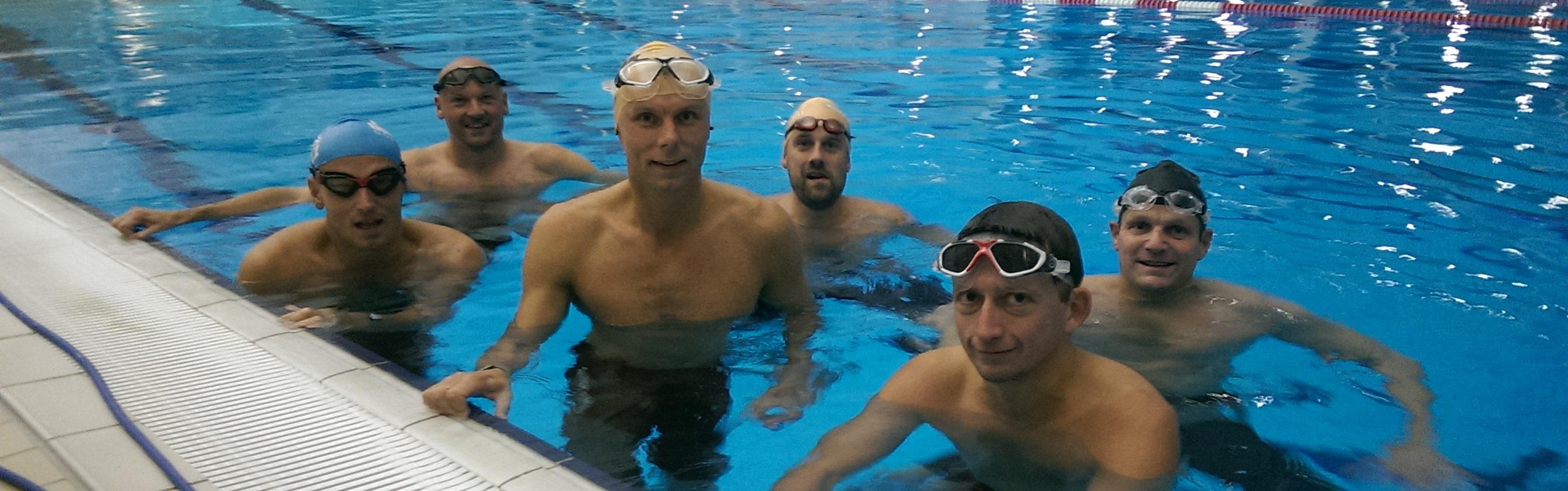 svømning træning